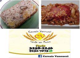 Página no facebook para conhecer melhor: www.facebook.com/Cereais-Vannucci